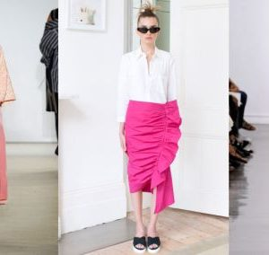 Fashion dresses pink this spring